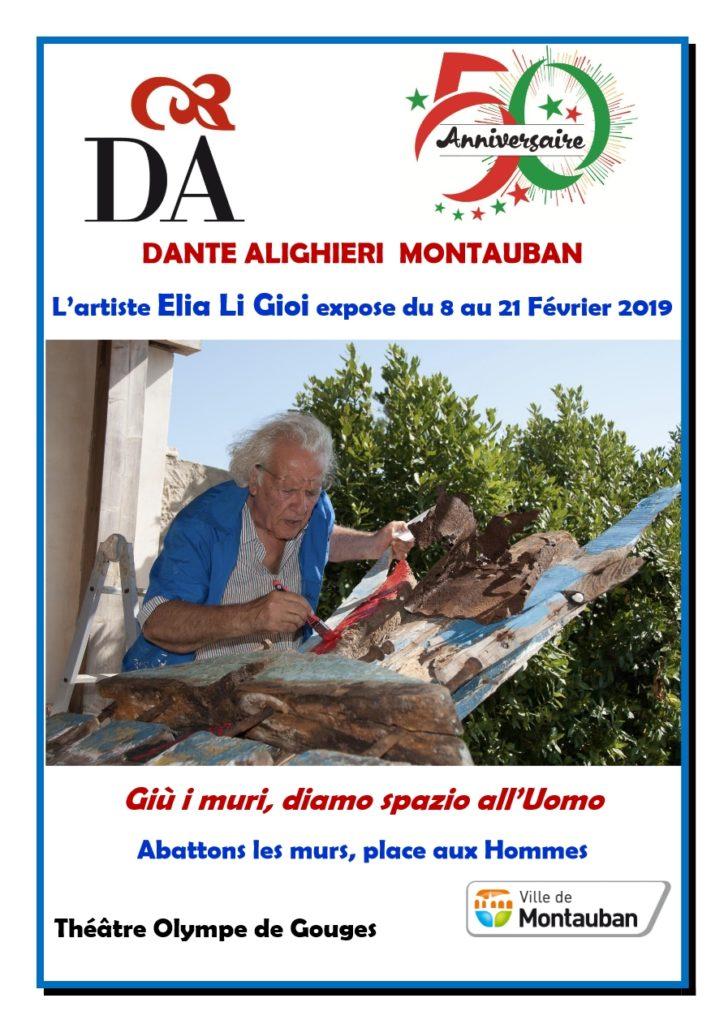 L'artiste Elia Li Gioi expose du 8 au 21 Février 2019